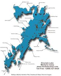 Map With Labels Map Of Dinorwic Lake