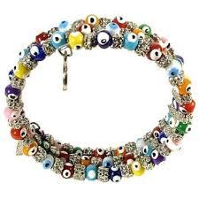 evil eye bead bracelet images Multi color evil eye beaded bracelet repels jealousy and envy jpg