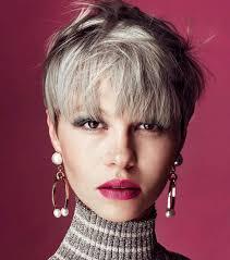 Frisuren Kurze Haar Damen by Kurzhaarschnitt Beispiele Für Dickes Haar