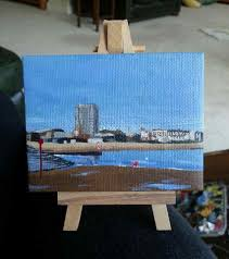 tiny u0027 paintings by this margate artist are proving to be a big hit