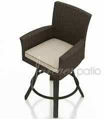 Outdoor Swivel Bar Stool Outdoor Wicker Bar Stools Patio Bars And Barstools