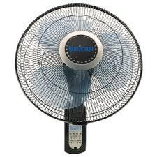 wall mounted rotating fan hurricane super 8 oscillating digital wall mount fan 16 in