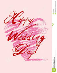 wedding day card happy wedding s day stock vector illustration of marriage 14040694