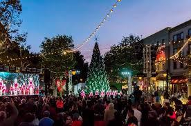 annual tree lighting ceremony picture of santana row san jose