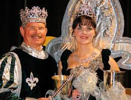 mardi gras royalty talk of the town mystick krewe of perseus crowns royalty at 41st