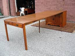 table with slide out leaves pull out dining table desk with slide out table pull out dining
