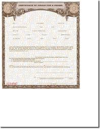 blank mco u0027s for a vessel u2022 buy manufacturer certificate of origin u0027s