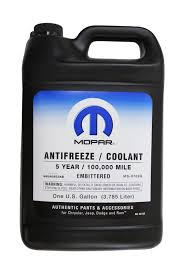 Dodge Ram Cummins Years - mopar 68048953ab 5 year extended life coolant gallon