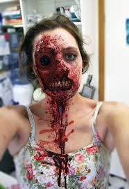 Scary Zombie Halloween Makeup by Really Cool Zombie Makeup Zombie Makeup Halloween 2014 And