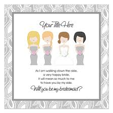 bridesmaid invitations template bridesmaid invitation templates will you be my bridesmaid ideas