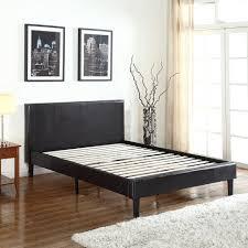 Leather Headboard Platform Bed Bedroom Furniture Beds Bed Headboards Leather Bed Set Metal