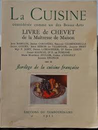 editeur livre cuisine la cuisine considérée comme un des beaux arts livre de chevet de la