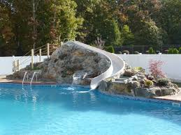 waterfalls for inground pools unbelievable rock waterfalls blue haven custom swimming pool and spa