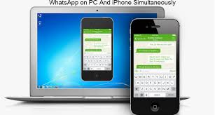 Whatsapp For Pc How To Run Whatsapp On Pc And Iphone Simultaneously