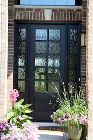 Glass Exterior Door Black Front Doors With Glass Best 25 Black Front Doors Ideas On