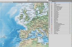 Mercator World Map by Digital Poster Size This World Map With Terrain In Adobe