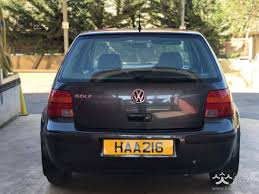 volkswagen golf 1999 hatchback 1 4l petrol manual for sale