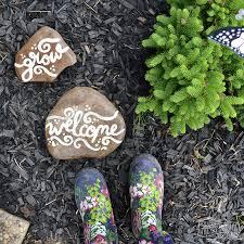 Diy Rock Garden Make Painted Rock Garden Markers The Diy