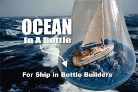 ship in a diy easy in a bottle for ship in bottle builders