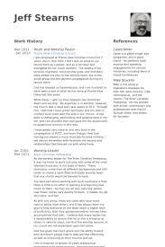 Resume Examples For Teachers by Pastor Resume Samples Visualcv Resume Samples Database