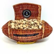 nut baskets the football nut gourmet gift baskets fifth avenue gourmet llc