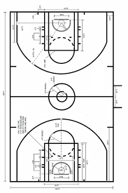 half court basketball dimensions for a backyard outdoor goods