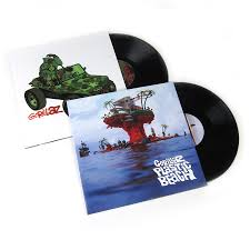 Plastic Photo Album Gorillaz Vinyl Lp Album Pack Gorillaz Plastic Beach
