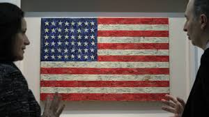 Jasper Johns Three Flags Everybody Lies