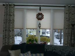 Blinds For Bow Windows Decorating Glorious Bay Window Decorating Ideas For Elegant Bedroom