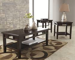 three piece table set coffee table coffee table buy ashley furniture t160 logan piece