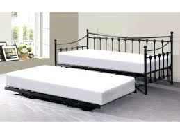 White Metal Daybed Iron Daybed With Pop Up Trundle U2013 Equallegal Co