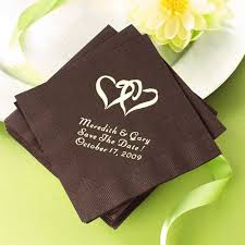printed wedding napkins wedding napkins are a practical way to personalize your event