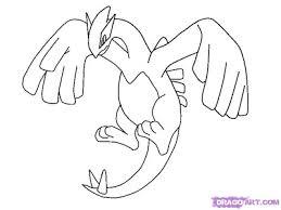 pokemon coloring pages lugia transmissionpress free printable pokemon lugia coloring pages