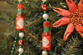 tabasco christmas ornament cajun food louisiana history and a