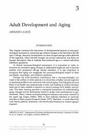 development and aging springer