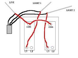 double light switch wiring wiring a double switch diagram wiring diagrams schematics