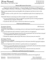 Hr Recruiter Job Description For Resume by Hr Resume Templates Human Resources Resume Objective Are