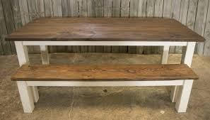 Rustic Bench Coffee Table Emily P Custom Table And Rustic Bench U2013 Great Lakes Reclaimed