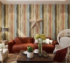 Wallpaper Designs For Kitchens by Birwall Vintage Weathered Wood Panel Wood Plank Wallpaper Wall