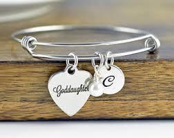goddaughter charm bracelet goddaughter bracelet etsy