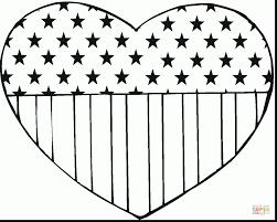marvelous american flag coloring page dokardokarz net