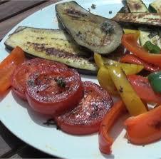 cuisine plancha recette légumes grillés à la plancha en vidéo