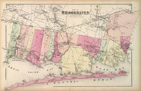 Suffolk County Map Print By Print Of Antique Map Of Brookhaven Suffolk County Long Island On