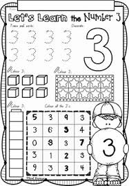 learn numbers 1 to 10 worksheets in queensland beginners font for prep