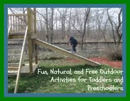 Backyard Activities For Kids Free Outdoor Activities For Toddlers And Preschoolers To Do In The