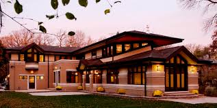 Frank Lloyd Wright Style Houses Projects Idea Prairie House Plans Type