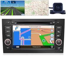 for audi a4 02 07 b6 b7 gps bluetooth car player navigation radio