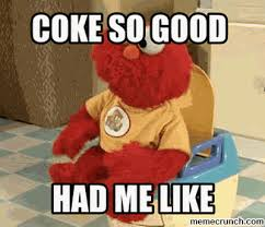 Coke Meme - elmo