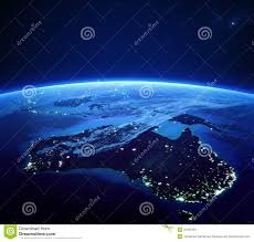 World Map At Night by World Map In The Night With Lights Stock Illustration Image