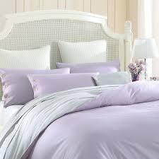 Duvet Cover Purple Combed Cotton 300 Thread Count Mixed Color Fleur De Lis Purple